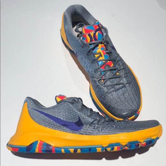 online store 20b7e 1b9e2 Nike air KD men s size 12 749375-050 multi color